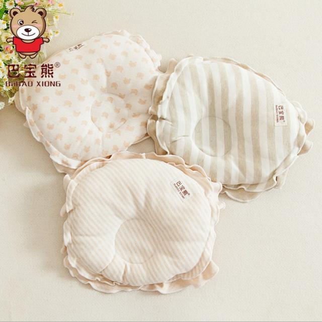 Infant organic cotton fixiform pillow baby 100% cotton pillow headform<br><br>Aliexpress
