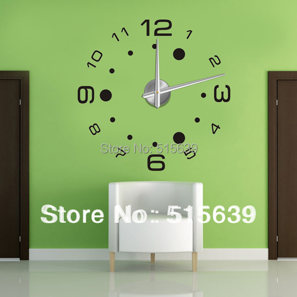 Aliexpress Com Buy New Design Creative Diy Wall Stickers: Aliexpress.com : Buy DIY Modern Design Large Wall Clock