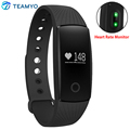 ID107 Bluetooth Smart Band Heart Rate Monitor Smart Wristband Fitness Tracker Pedometer Sleep Tracker Bracelet For