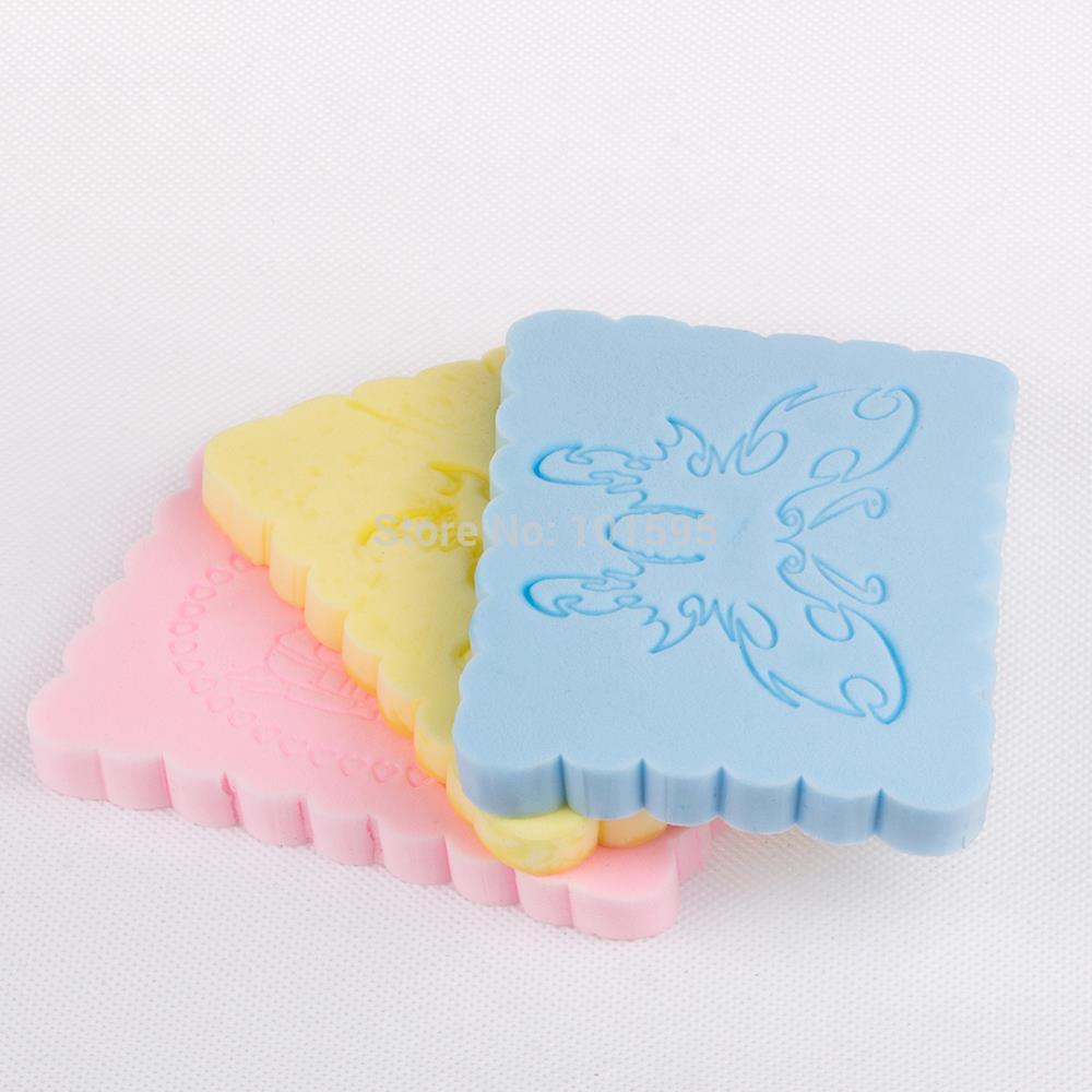 Cuidados de beleza suave de maquiagem esponja batterfly, Face Wash esponja de limpeza esponja de pó de cosméticos