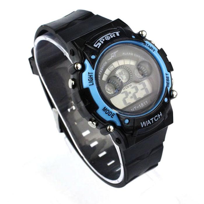 Fashion Waterproof Boy Girl Sports LED Light Electronic Wrist Watch B/LB Freeshipping&amp;Wholesale<br><br>Aliexpress