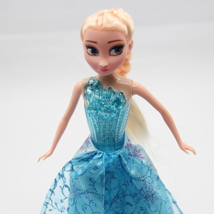 """Snow Queen Series Elsa Musical Doll with original box Singing """"Let it go"""" Song Glow Princess Elsa Baby Dolls for Girl Kids dolls(China (Mainland))"""