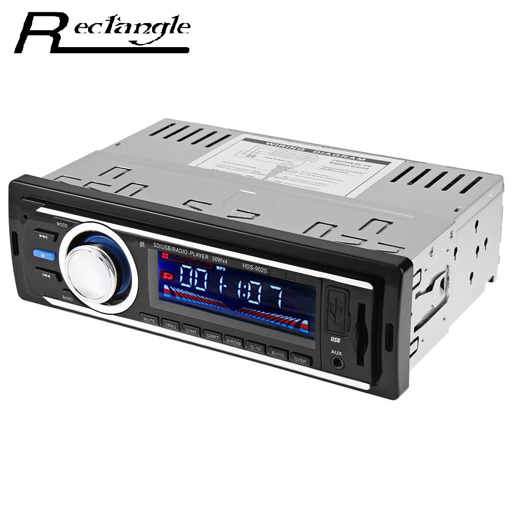 2126 1 Din Car Radio Auto Audio Stereo 12V FM SD MP3 Player AUX-IN USB with Remote Control Vehicle In-Dash Audio Device(China (Mainland))