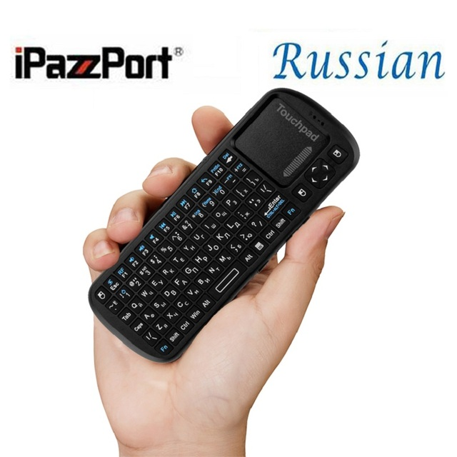 External Bluetooth Keyboard For Android Phone: Russian Layout Wireless Mini Keyboard From IPazzPort 2.4Ghz Laptop Pc External Wireless Keyboard