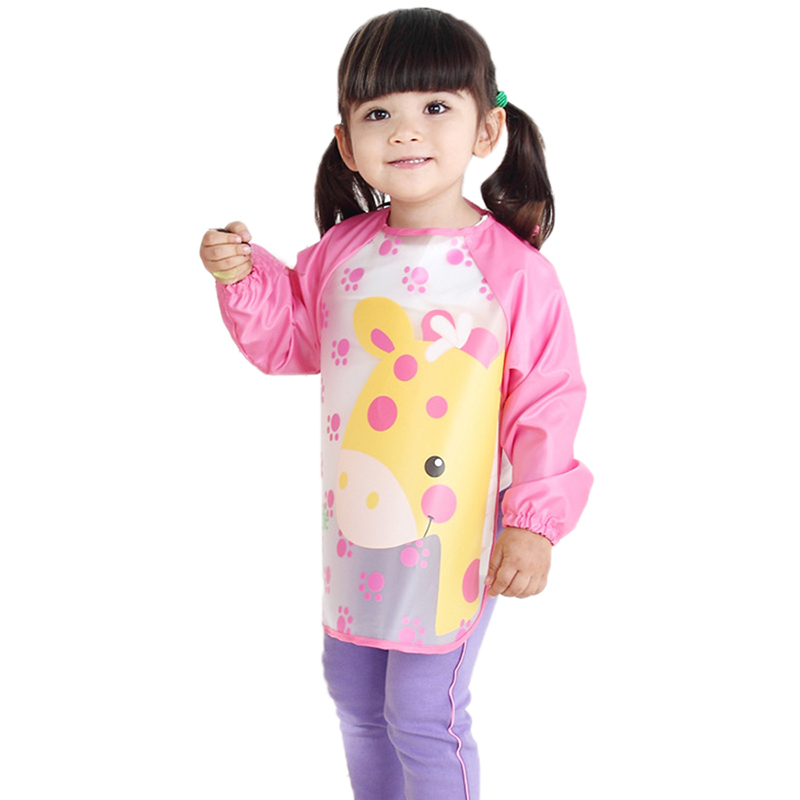 Nursing Apron 5 Styles Cotton Children's anti-dress baby long sleeve Lattice nursing covers bibs baby Dinner clothes IC679107(China (Mainland))