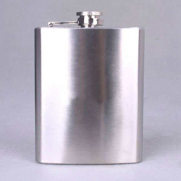 Mini hip liquor alcohol flask 7oz Stainless Steel Hip Flask Pocket Liquor Whiskey Flasks Wine Pot Flagon Free Funnel A1817