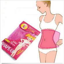 2015 New Hot Sauna Slimming Belt Waist Wrap Shaper Burn Fat Cellulite Belly Lose Weight Beauty Health Care