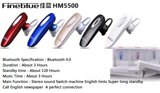 Promotion !Universal Wireless Headphones BT 4.0 Mobile Bluetooth Headset Earphone mobile phone - Integrity management services store