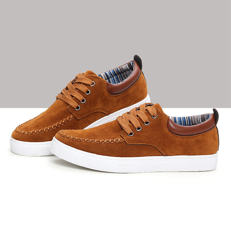 fashion shoes brand mens casual shoes lace up