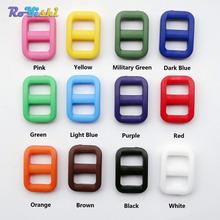 """100pcs/pack 3/8"""" Colorful Plastic Slider Tri-Glide Adjust Buckles Backpack Straps Webbing 10.5mm(China (Mainland))"""