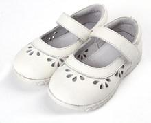 2019 הקיץ אמיתי עור ילדי סנדלי הולו מתוך רך תחתון ילדי נעליים יומיומיות בנות נסיכת נעלי תינוק פעוט נעליים(China)