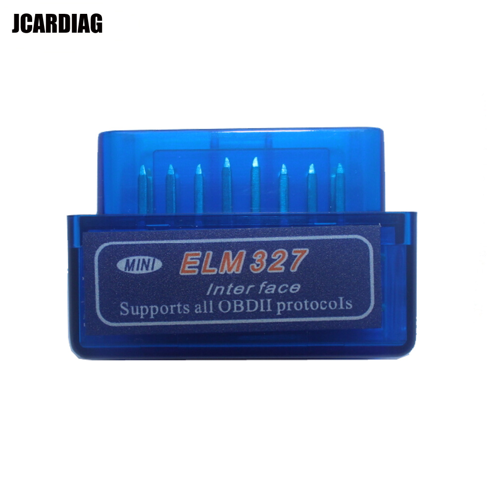 Wholesales OBD2/OBDII scanner ELM 327 Auto Diagnostic Scanner Super mini ELM327 bluetooth Work ON Android Torque/PC(China (Mainland))