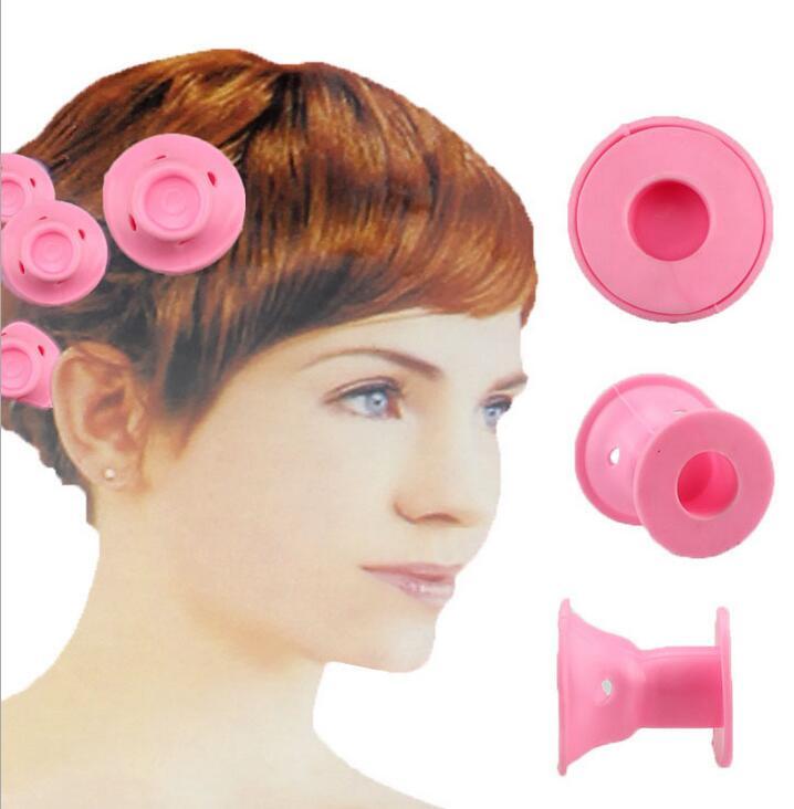 10pc Soft Rubber Rizadores Pelo Diy Hair Styling Roller