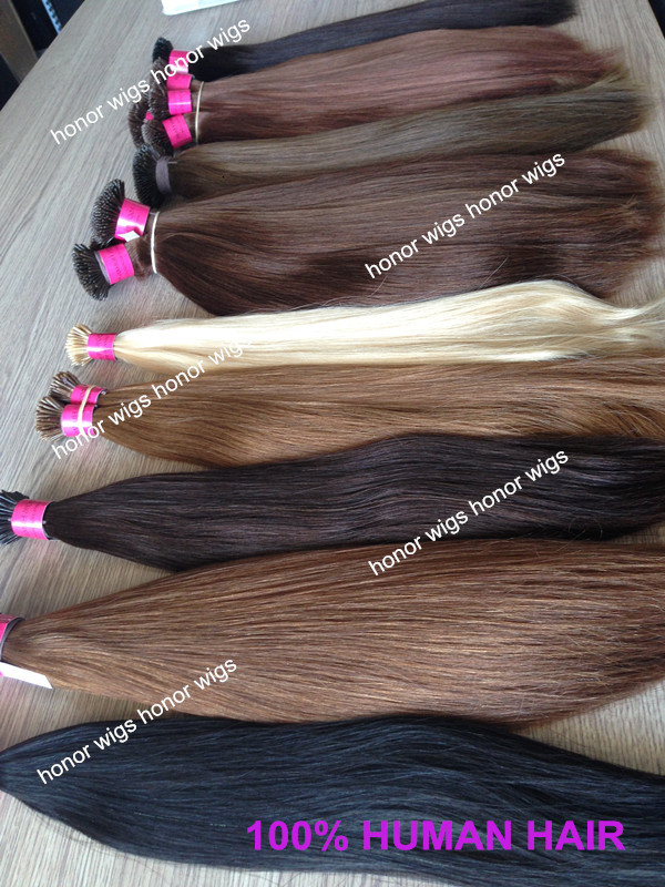 super charming  factory price colored human  hair extension in stock<br><br>Aliexpress