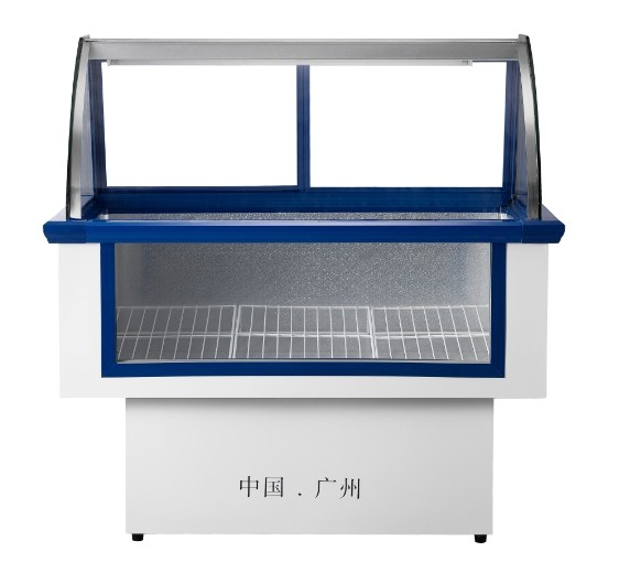 Sui Ling DLCD-1300X/1600X/2000X meat cabinet single temperature refrigerator glass windows below the surface<br>