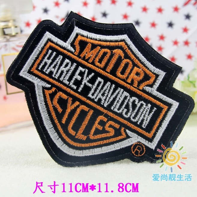 ---N0 c2 big designshoulder board Embroidered patches glue, iron-on /sew-on girls cloth garment shoes - kele clothing &accessory store