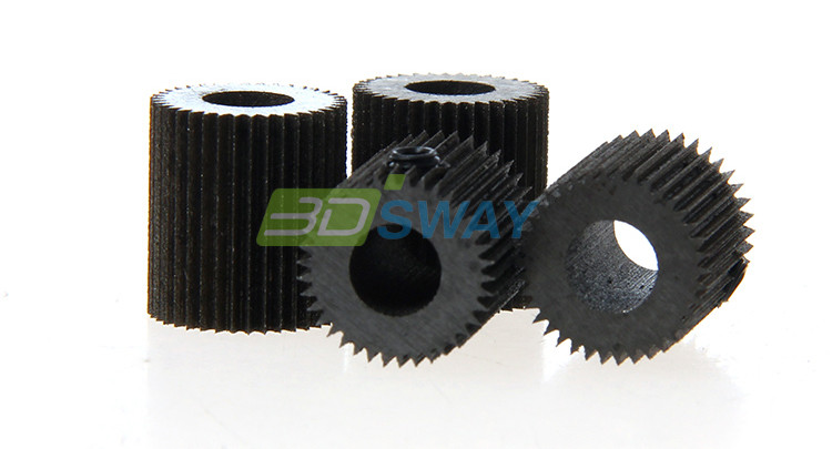 High Quality 3D Printer Accessories 38 Tooth Mold Steel Linear Extruder Filament Drive Gear for Planetary Gear Extruder (2)