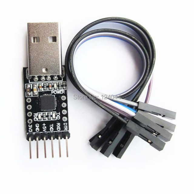 All pin leads CP2102 USB to UART module USB Downloader Programmer Serial Converter TTL TXD RXD