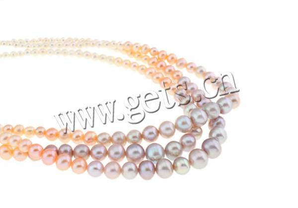 High Quality AAA Fashion Necklaces for Women Jewelry 100% Natural Freshwater Pearl Necklace Mixed Color Long Statemen Necklace