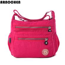 Hot !!!women Messenger bags nylon women bag shoulder Crossbody Bags fashion Ladies handbags 9 color school bags sac a main WC30(China (Mainland))