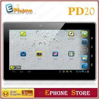 7 inch Android 4.0 Dual Camera Dual Core WIFI HDMI External 3G GPS 1G 8G Freelander PD20 Tablet PC Free Shipping