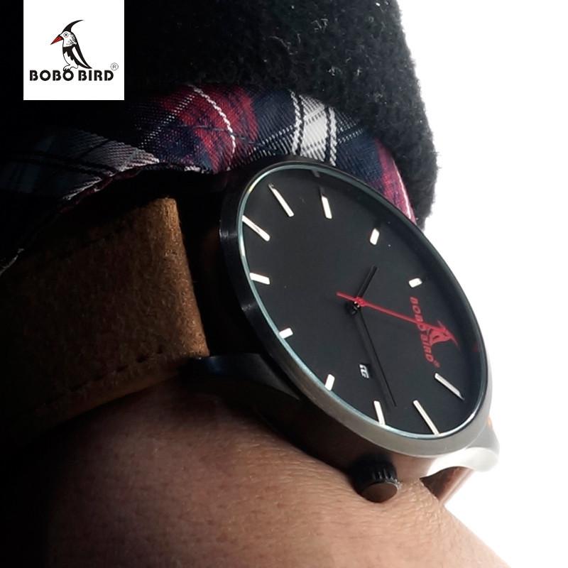 b99496ad88d BOBO BIRD G15 Men Fashion Luxury Brand Quartz Watches Business ...