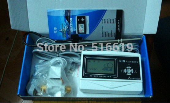 Solar water heater control panel Control instrument Computer board Display panel(China (Mainland))