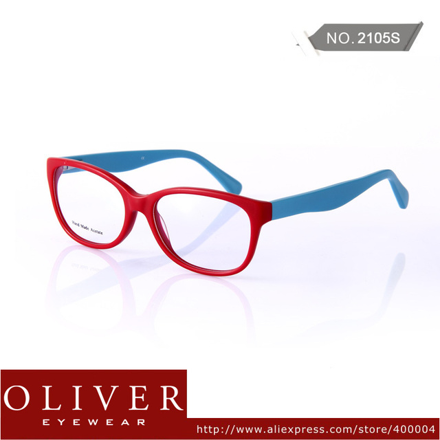 2013 New Arrival Retro Frame Color Patch Acetate Optical Frame  Eyeglasses Brand Eyeglasses Frames 2105 Free Shipping!