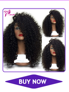 8A Kinky Curly Glueless Lace Front Human Hair Wigs For Black Women Baby Hair Brazilian virgin Full Lace Wigs with baby hair