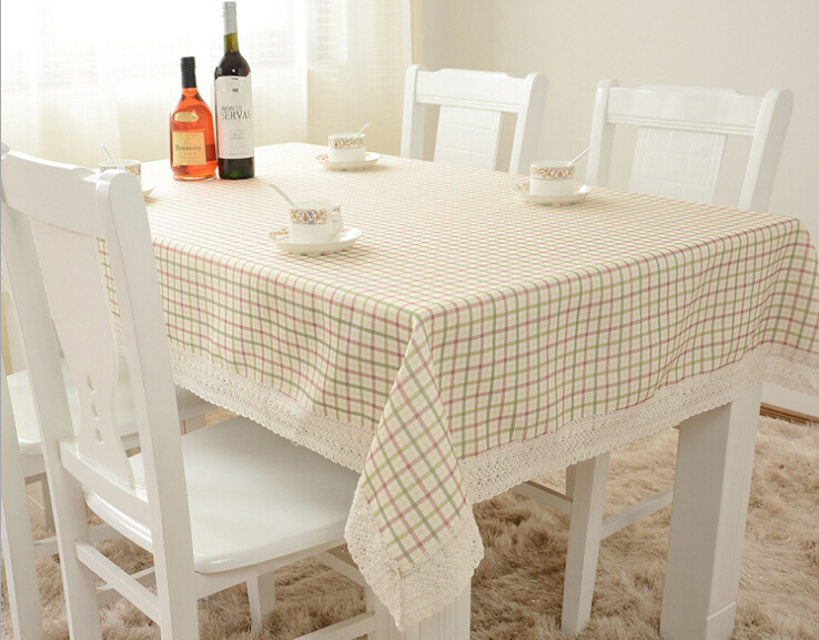 The Latest Western Plaid Table Cloth High-quality Household Adornment Table Linen Tablecloth Clean Simple But Elegant TableCover(China (Mainland))