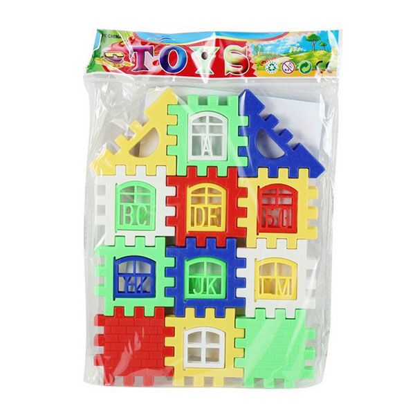 High Quality Creative Cheap DIY Craft Gift House Building Blocks Toys for Children Kids free shipping