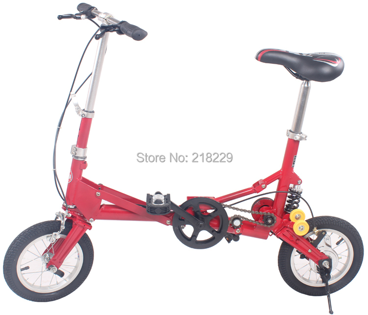 To Singapore Japan asian free 12 inch mini folding bicycle folding bike the special gift various