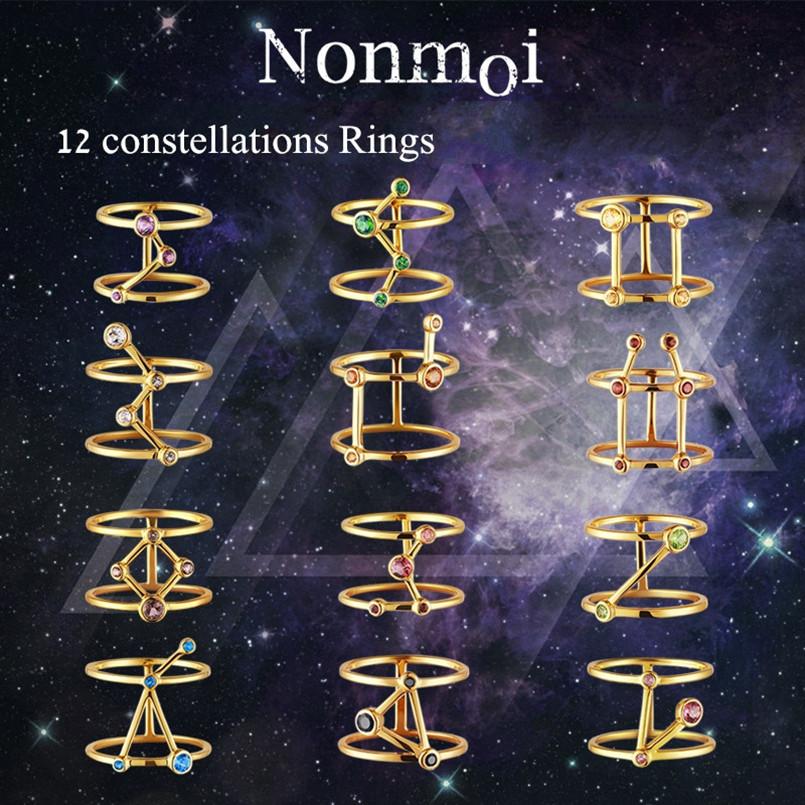 Aliexpress Com Buy 12 Zodiac Signs Constellation: Aliexpress.com : Buy Women Constellations Rings (12 Zodiac