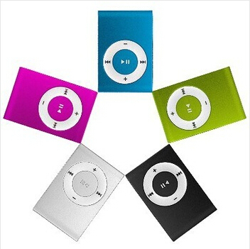 Retail low price MINI Clip MP3 Player with Micro TF/SD Card Slot Without Headphone, No Usb (Only mp3)(China (Mainland))