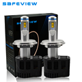 High quality 2pcs LED H4 110W Headlight LED Bulbs 10400LM 5000K 6000K DC12V 24V 30V super