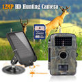 Free shipping RD1001 8GB 720P Wildlife Hunting Camera Infrared Video Trail Black 940nm Solar Battery
