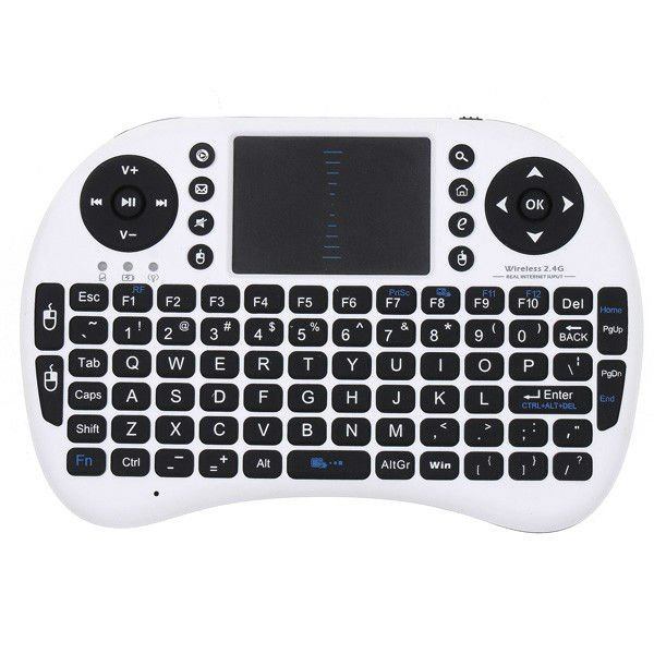 Rikomagic 2.4G wireless keyboards gaming fly air mouse touchpad for Android TV BOX Dongle stick tablet PC