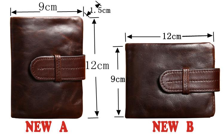 Как сшить из кожи мужской кошелёк