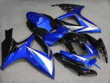 Buy Motorcycle Fairing kit SUZUKI GSXR600 750 K6 06 07 GSXR 600 GSXR 750 2006 2007 ABS blue black Fairings set+7gifts SC42 for $345.96 in AliExpress store