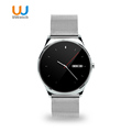 2016 UWATCH New 0 98mm Round Screen Smart Watch Bluetooth Heart Rate Monitor Smartwatch For IOS