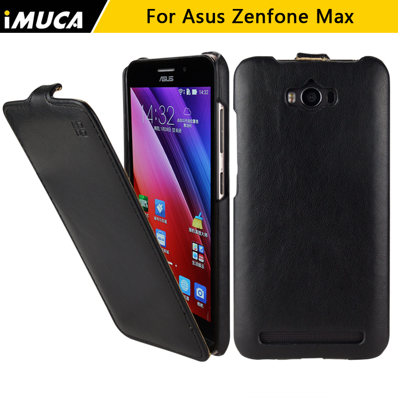 for ASUS Zenfone MAX zc550kl case asus zenfone max zc550kl cover luxury flip leather case imuca mobile phone bag retail package(China (Mainland))