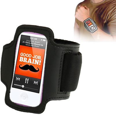 Sports Armband Case for iPod nano 7 High Quality Arm Band Protective Cover Portable Carry Phone Black(China (Mainland))