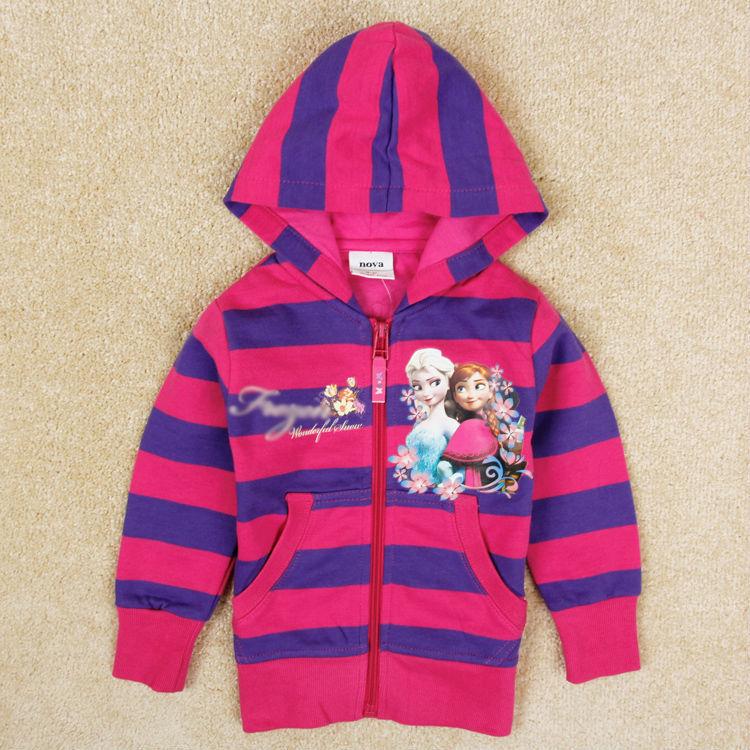 Brand Novatx girl hoodies five different size fashion anna coat baby girl jackets winter children outerwear kids clothes top<br><br>Aliexpress