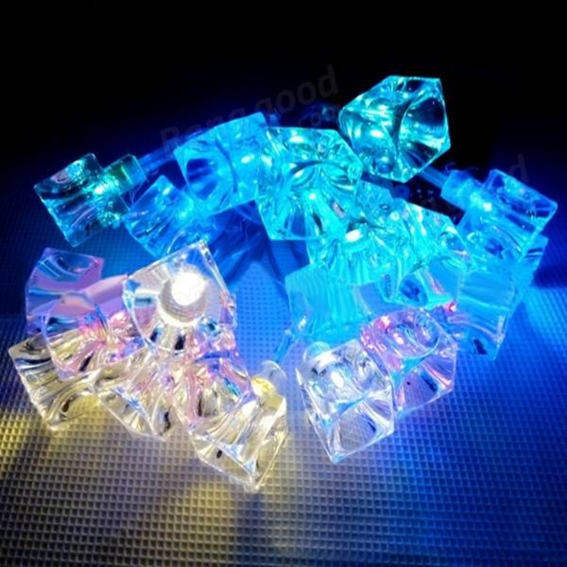 2015 New Battery Powered 1.2M 10 LED Ice Cube Shaped String Light For Christmas Holiday Festival Decoration(China (Mainland))