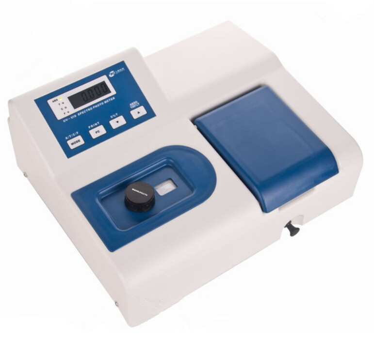 Visible Spectrophotometer V1000 Wavelength Range 360-1020 nm 6 nm Spectral Bandwidth with RS232C port 110V Or 220V<br><br>Aliexpress