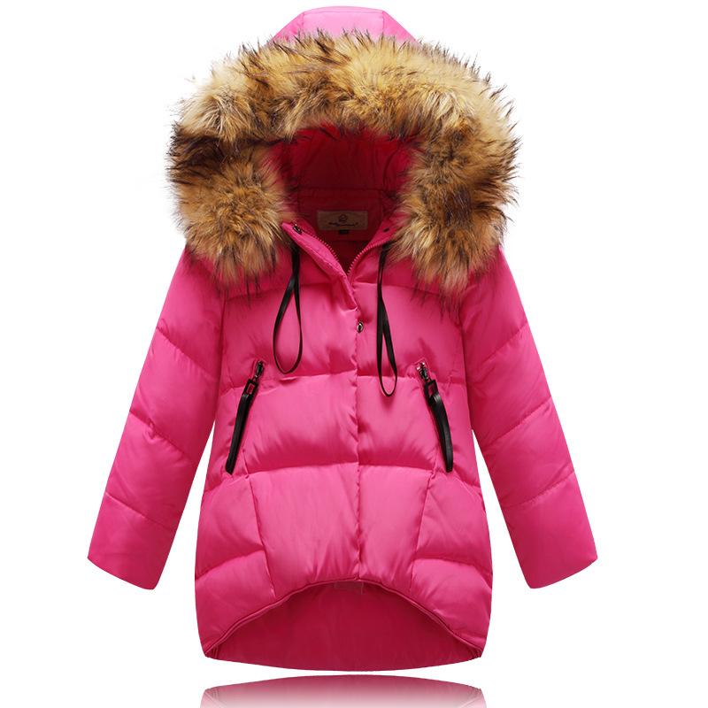 Girls winter coat fur - ChinaPrices.net