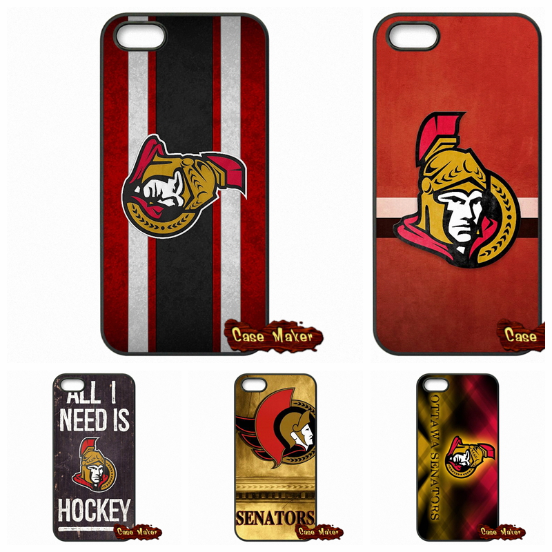 Ottawa Senators Hockey Team Case Cover For Apple iPhone 4 4S 5 5C SE 6 6S 7 Plus 4.7 5.5 iPod Touch 4 5 6(China (Mainland))