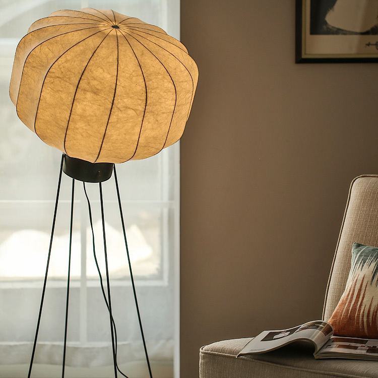 Nordic expression / Danish modern design / Japanese minimalist / ANS Iron Paper Lamp / Yang month floor lamp(China (Mainland))