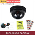 New 1 1 model Fake camera simulation security cctv cameras dummy cam with flash blinking warning