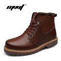 Men snow boots Super Warm Men s Outdoor Winter Shoes Lace Up Warm Plush Fur Winter